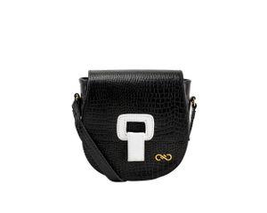 004796---B200101009---Mini-Bag-Tiracolo-Mini-Croco-Bicolor-Preta-e-Branca-01